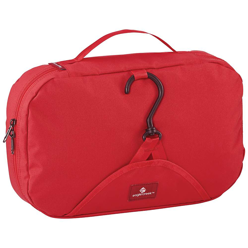 Eagle Creek Pack-it Wallaby Hanging Toiletry Kit Red Fire