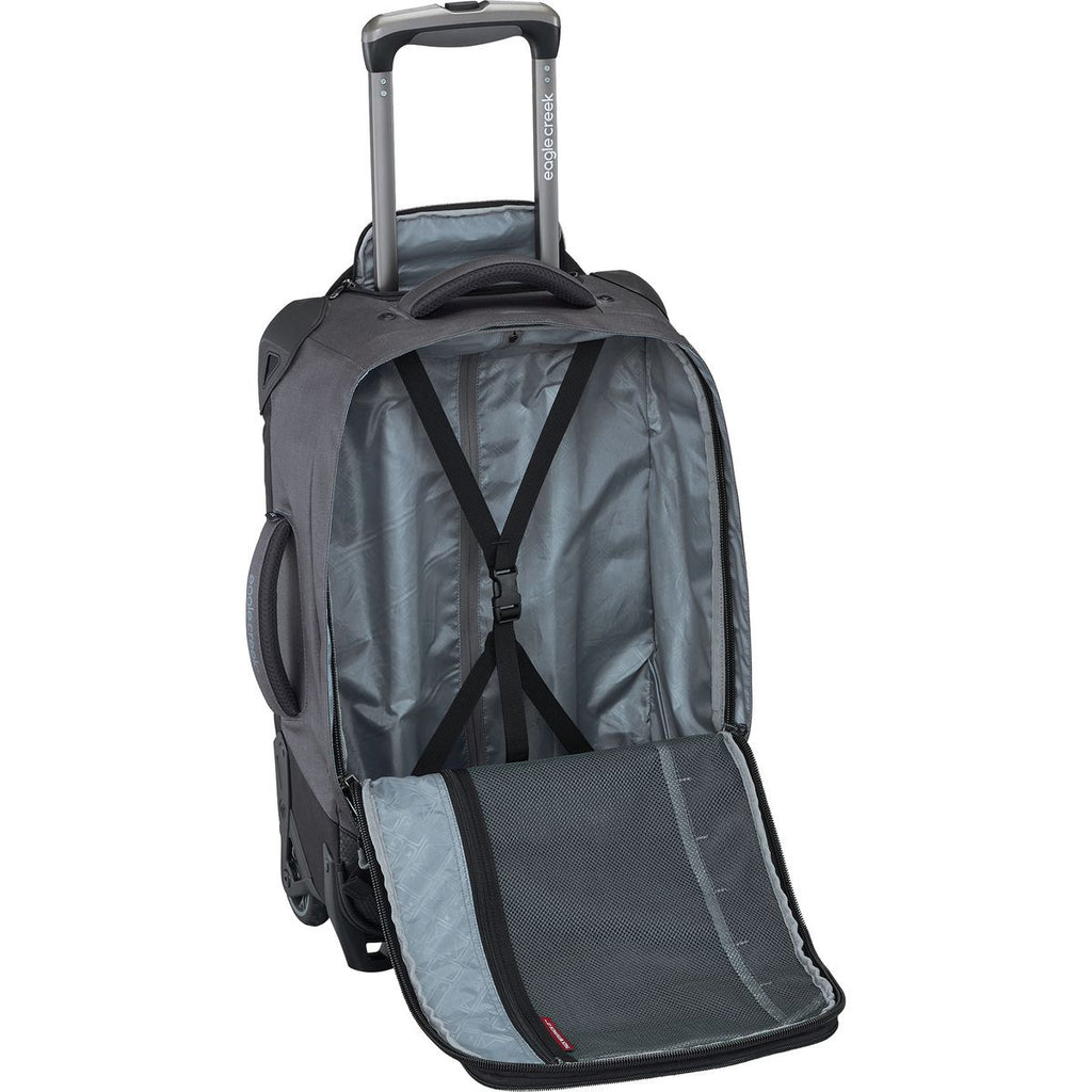 "Eagle Creek Switchback 21"" International Carry-on Wheeled Luggage with Backpack Black"