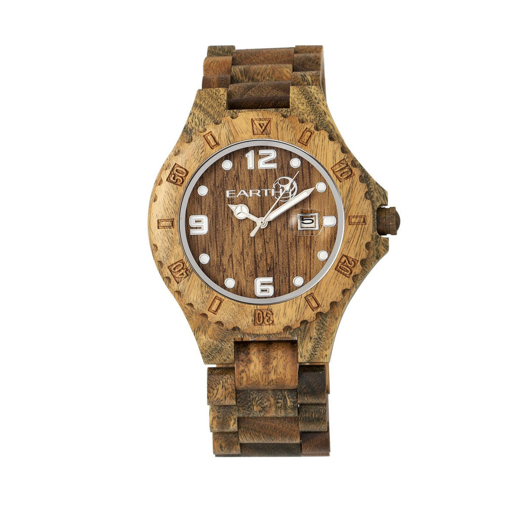 Earth Wood Raywood Watch Olive Wood