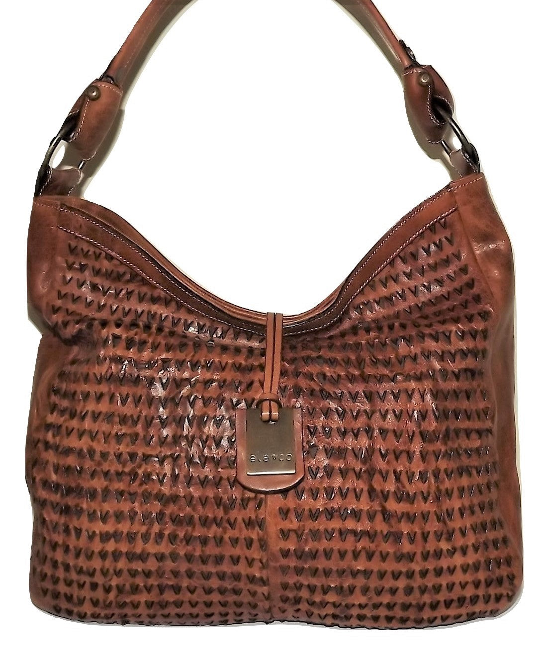 Elenco Aveiro Hobo Bag Crossbody Bag Cognac