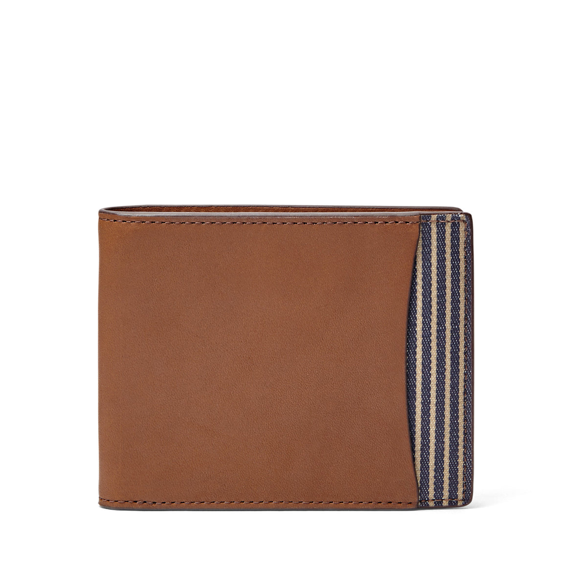 Fossil Knox Bifold Traveler Wallet Brown