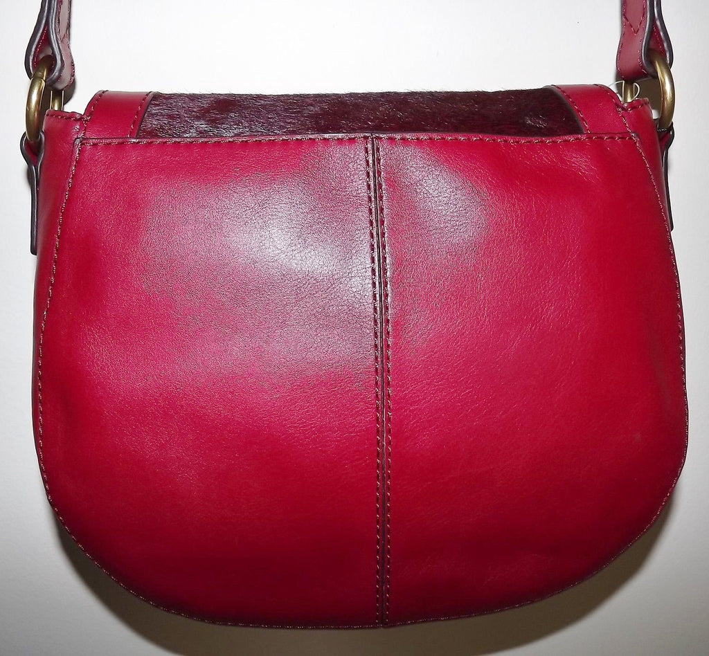 Fossil Women's Leather Vintage Reissue Crossbody Shoulder Bag