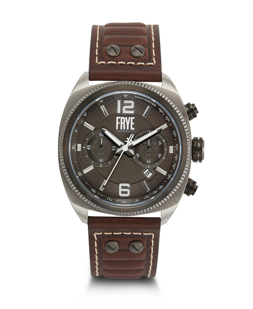 Frye Moto Engineer Chronograph Watch
