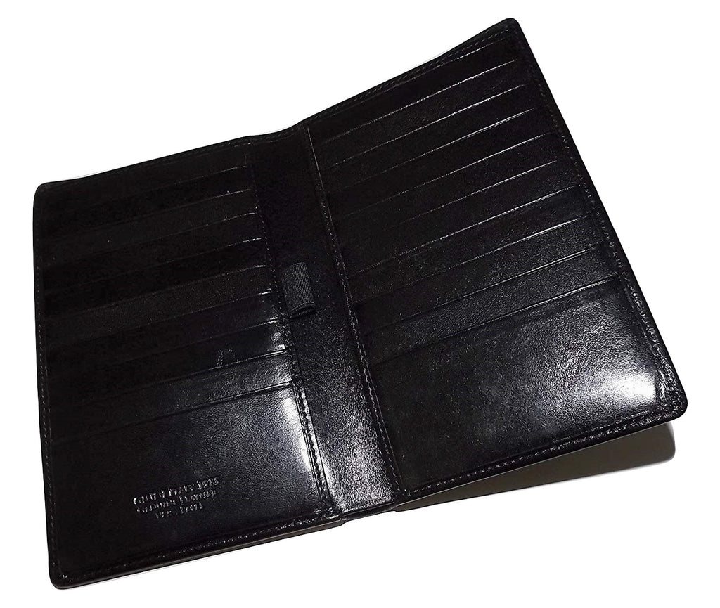 Guidi Breast Pocket Wallet Black