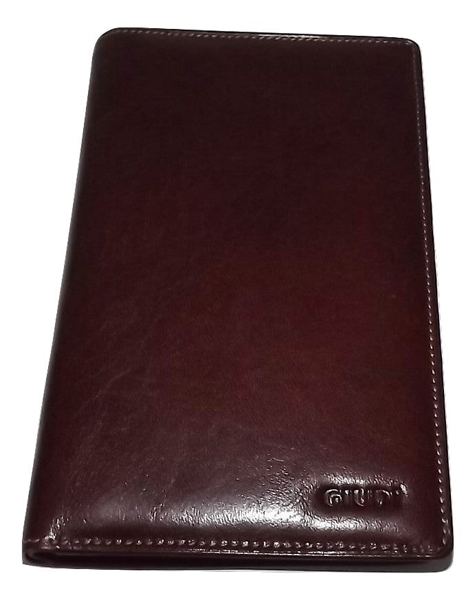 Guidi Breast Pocket Wallet Brown