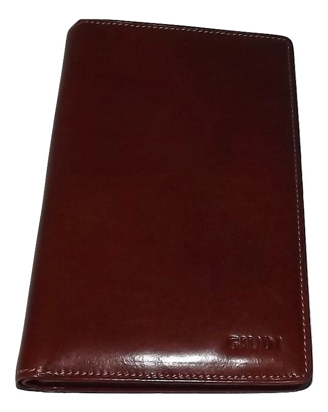 Guidi Breast Pocket Wallet Maroon