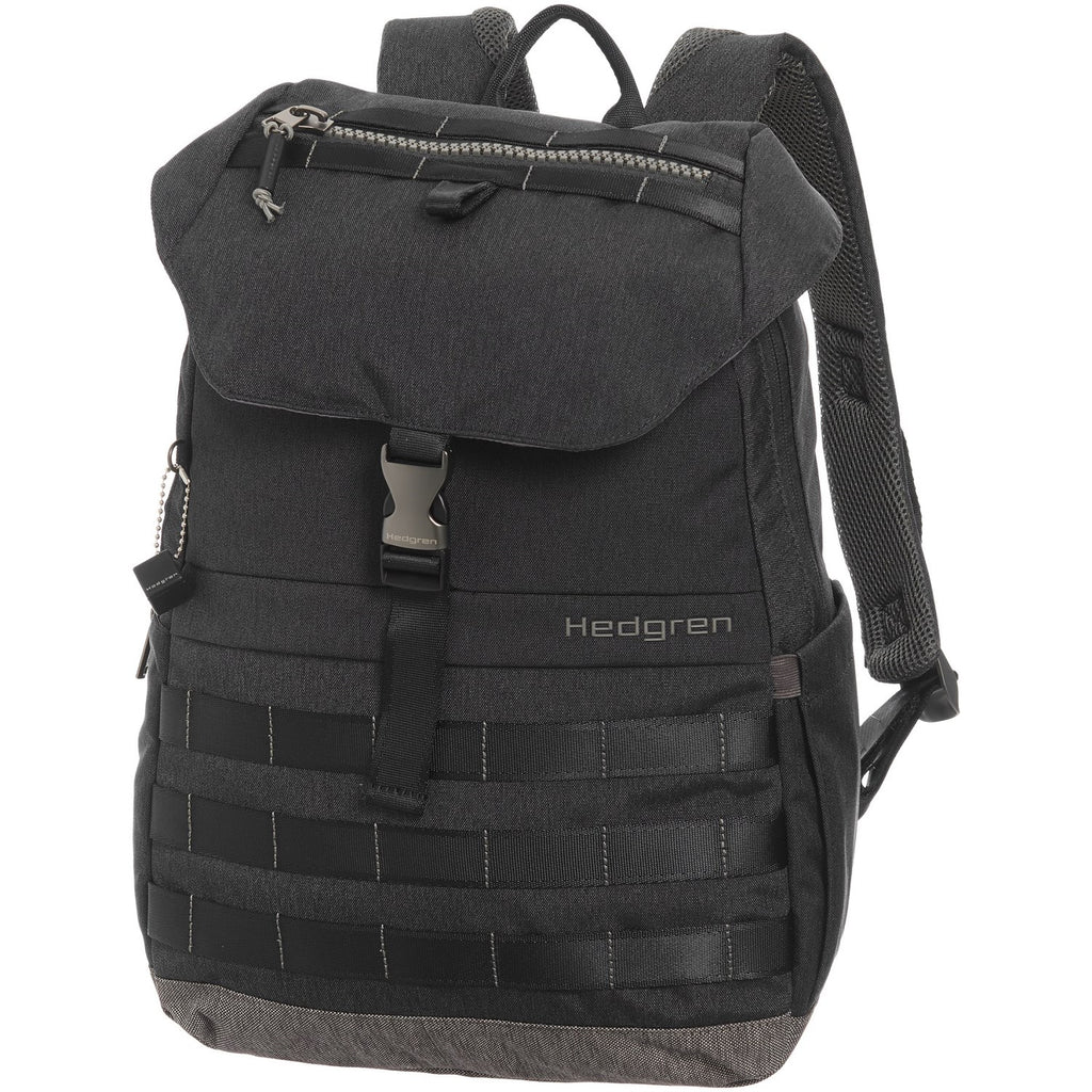 "Hedgren Knock Out Cassiel 15"" Laptop Backpack Phantom Black"