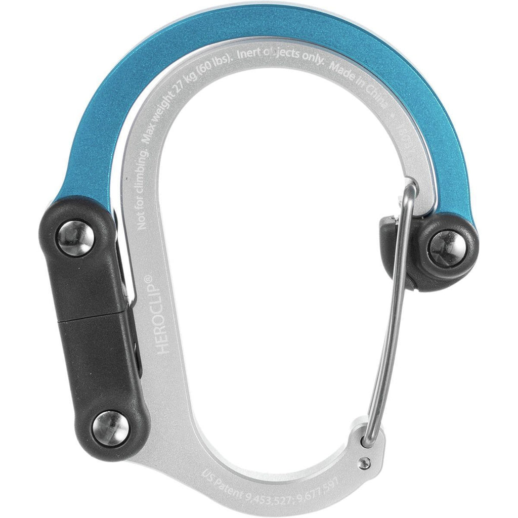 Heroclip Hybrid Carabiner Hook Medium Blue