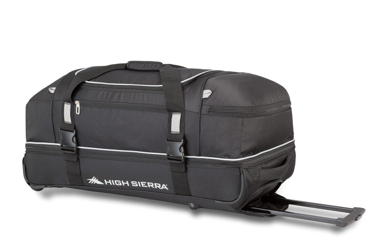 "High Sierra Privo 30"" Lightweight Drop Bottom Wheeled Duffel"
