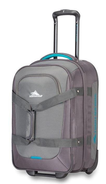 "High Sierra Winslow 21"" Carry-on Wheeled Luggage Ash"