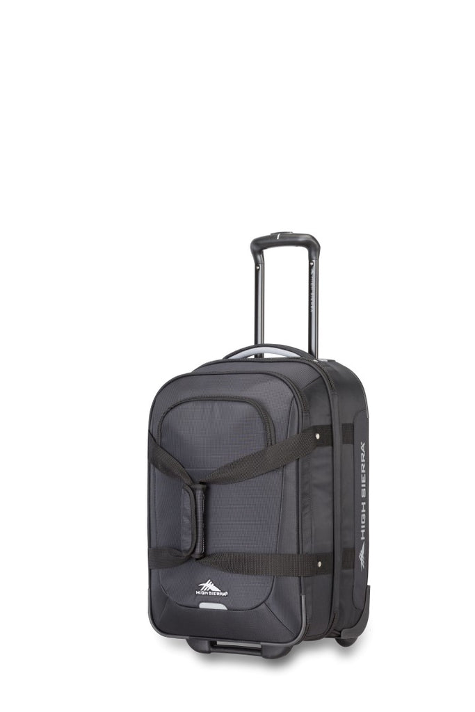 "High Sierra Winslow 21"" Carry-on Wheeled Luggage Black"