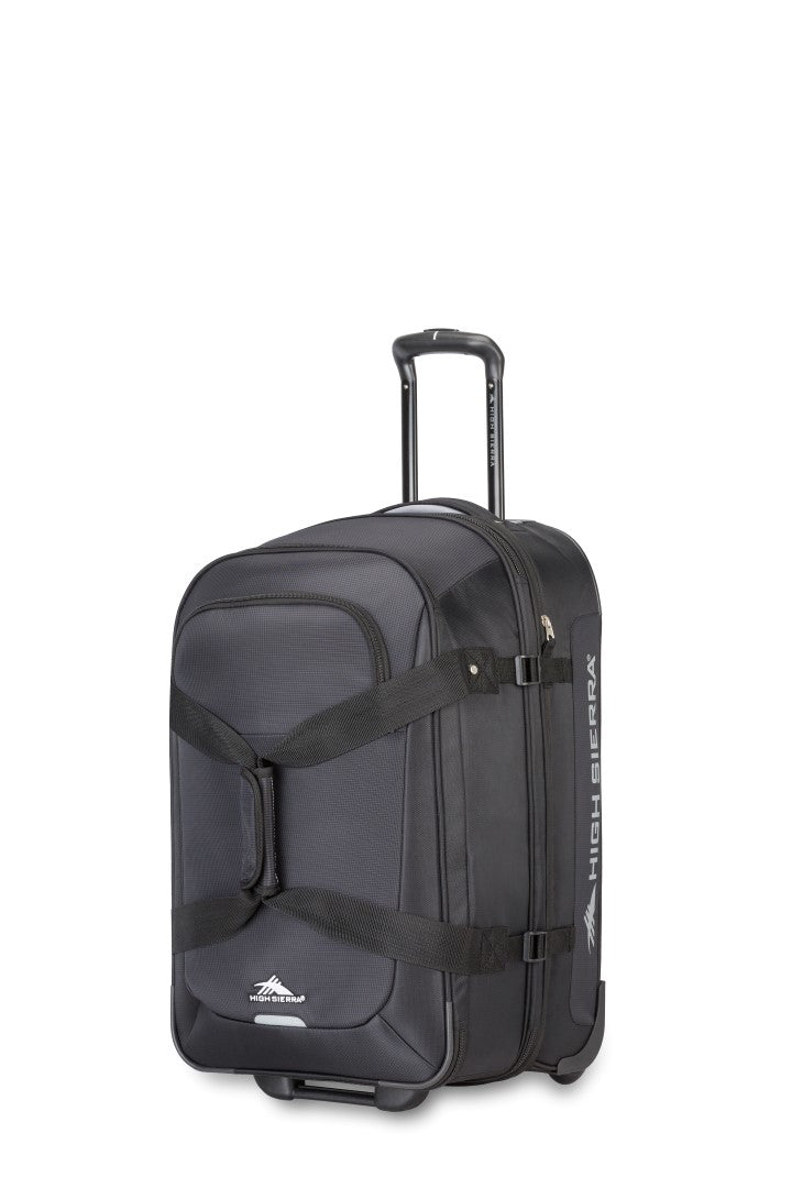 "High Sierra Winslow 25"" Upright Wheeled Luggage Black"