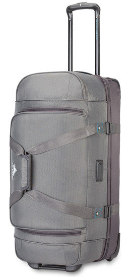 High Sierra Winslow 28 Wheeled Drop Bottom Duffel Ash/Slate