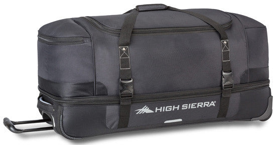 High Sierra Winslow 34 Wheeled DB Duffel Black Ash