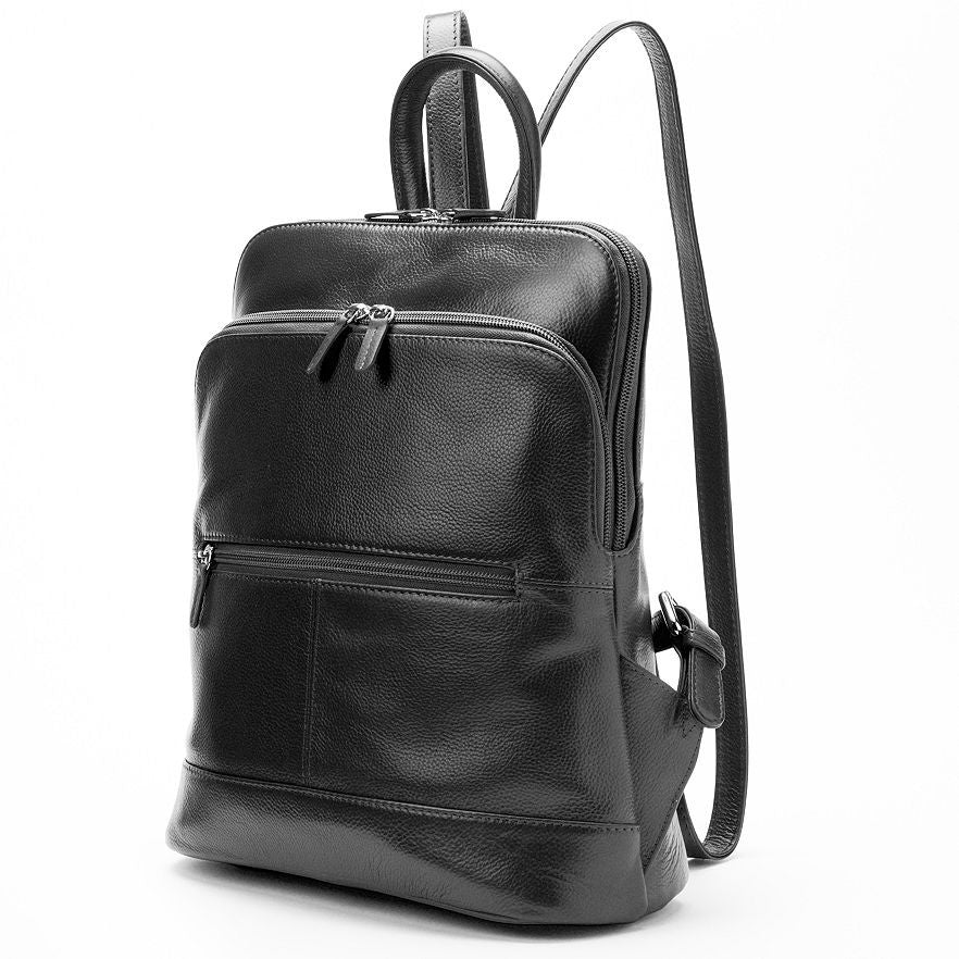 Italia Leather Women's Classic Laptop/Tablet Backpack