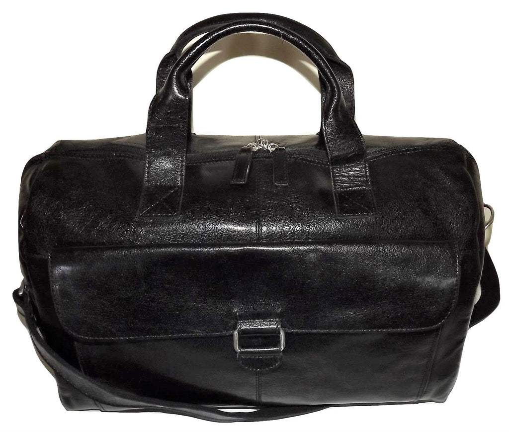 Jack Georges Tuscana Classic Overnight Duffel Black