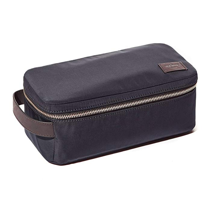 Jack Spade Mason Nylon Twill Travel Toiletry Kit Navy
