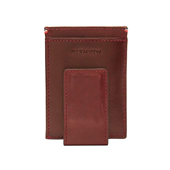 Jack Mason Oxford Core Front Pocket Magnetic Money Clip Wallet