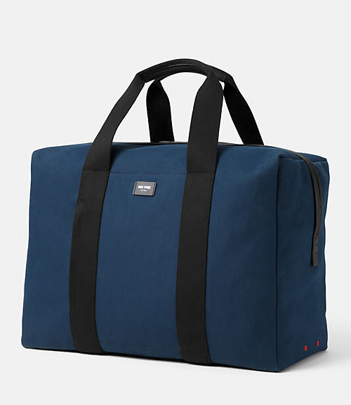 "Jack Spade 19"" Carry-on Canvas Duffel Luggage Washed Blue"