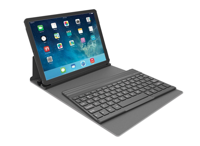 Kensington Keyfolio Exact iPad Air Case Bluetooth Keyboard Black