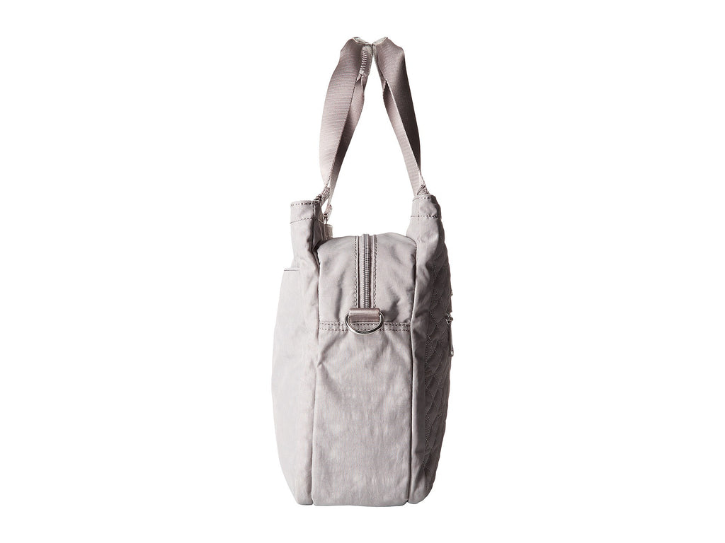 Kipling Women's Julianna East/West Tote Crossbody Shoulder Bag Slate Grey