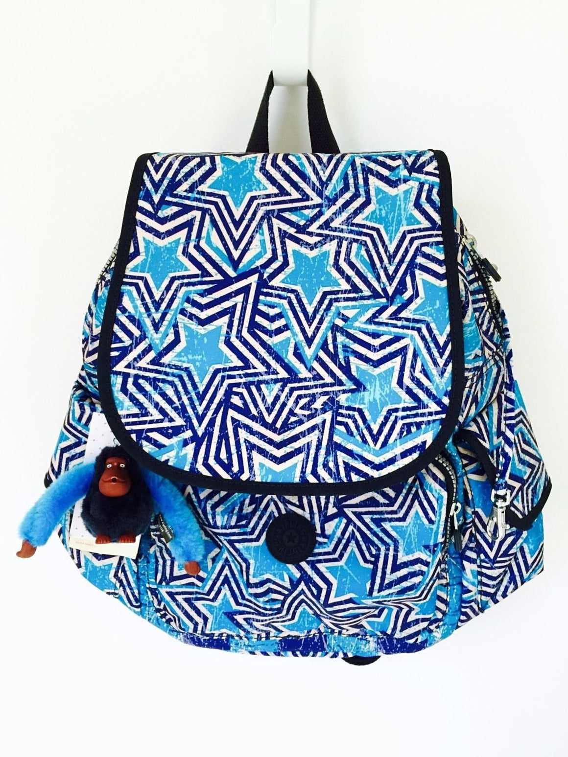 Kipling Ravier Backpack America Pop Print