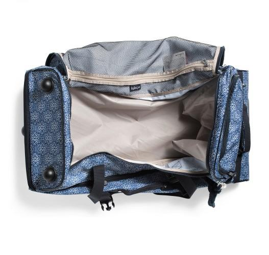 Kipling Teagan Large Wheeled Duffel Frosted Feels