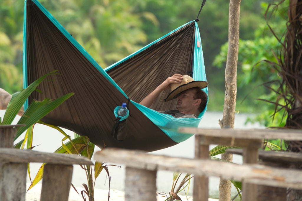 La Siesta Double Travel Hammock with Integrated Suspension