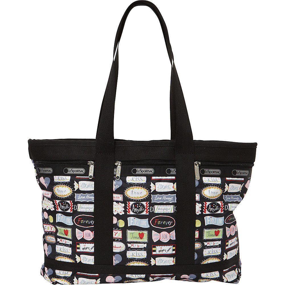 Lesportsac Medium Carry-on Size Travel Tote & Cosmetic Case Sweet Talk