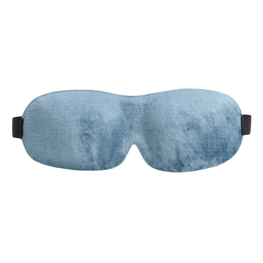 Lewis N Clark Be Well Bamboo Contour Eye Mask Blue