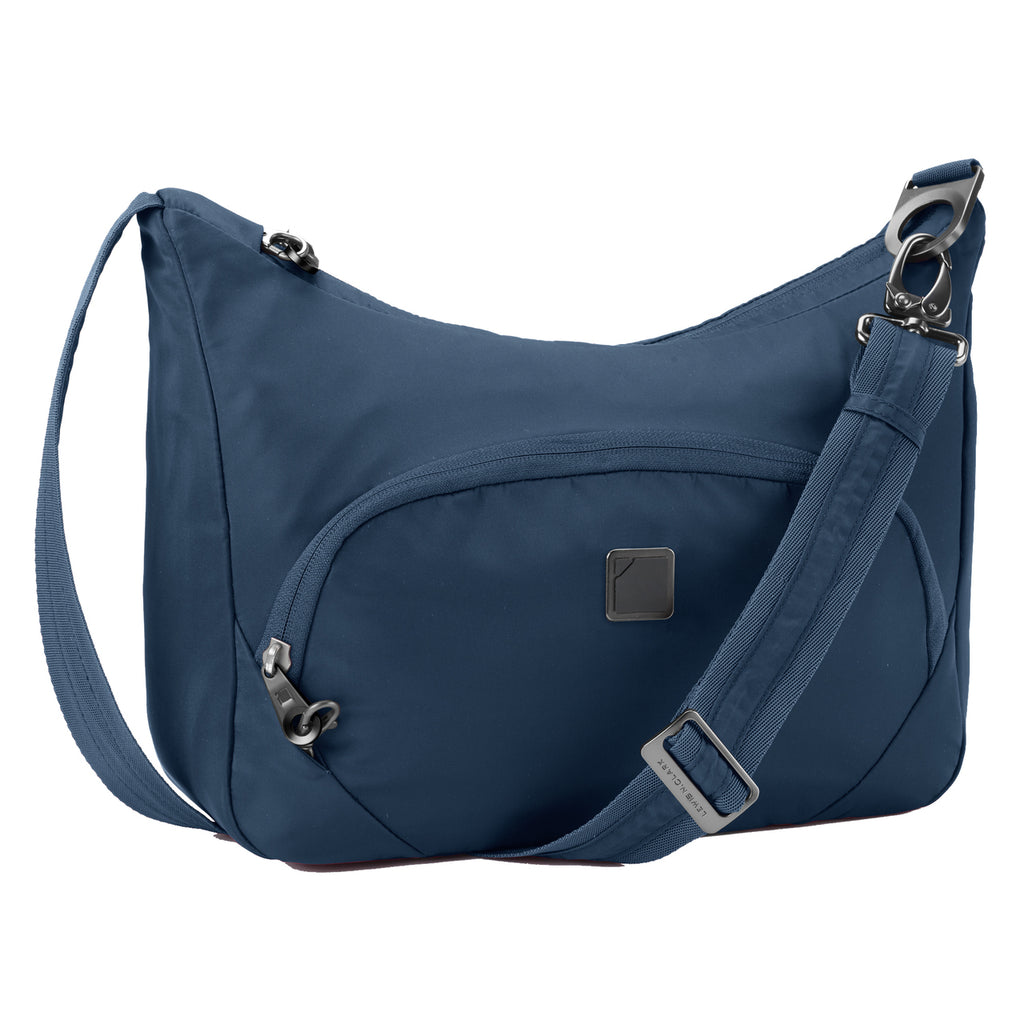 Lewis N Clark Secura Anti-theft Messenger Bag Lake Blue