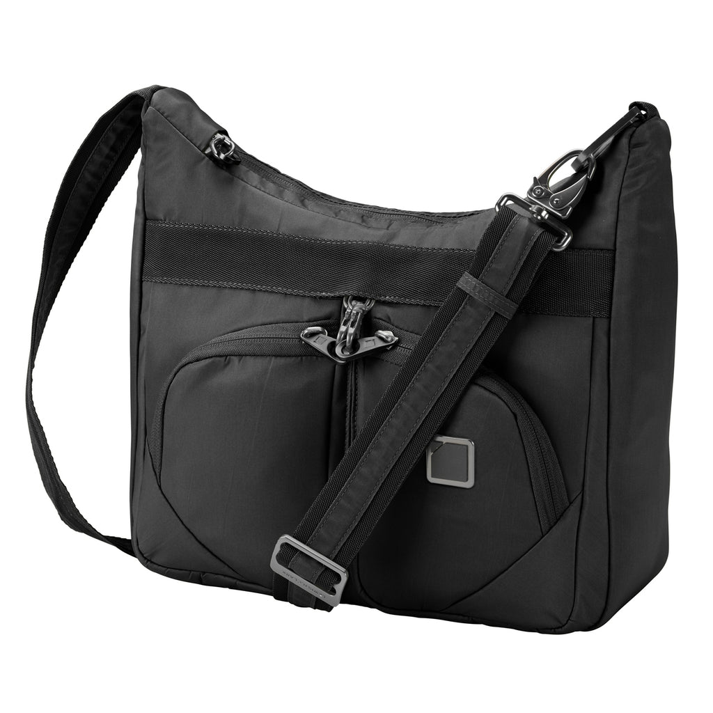 Lewis N Clark Secura Anti-theft Satchel Bag Black
