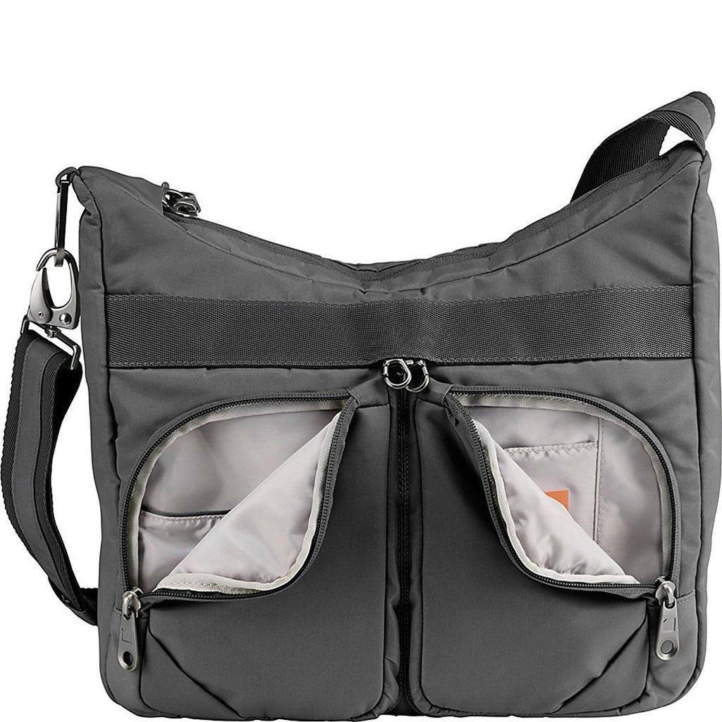 Lewis N Clark Secura Anti-theft Satchel Bag Slate