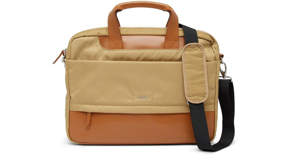 Lodis Kate Alexus Laptop Briefcase Tan