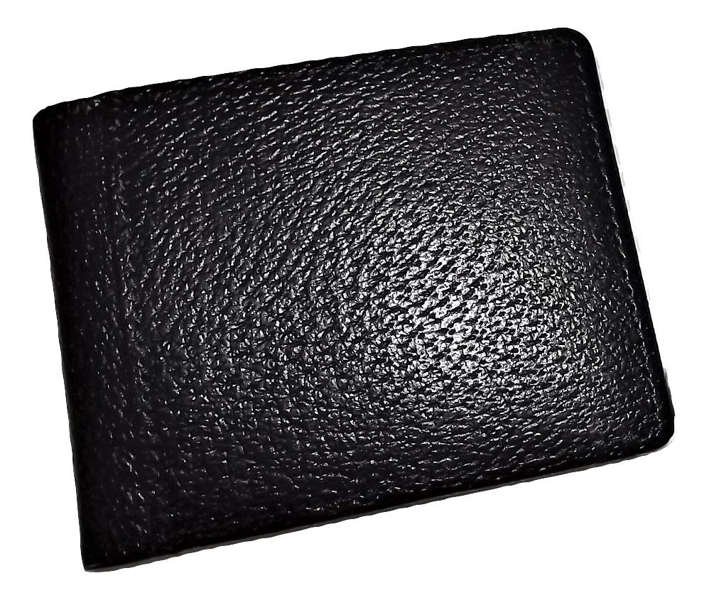 Lodis Leather RFID Protected Bifold ID Wallet Black