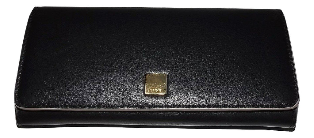 Lodis RFID Clutch Wallet Black