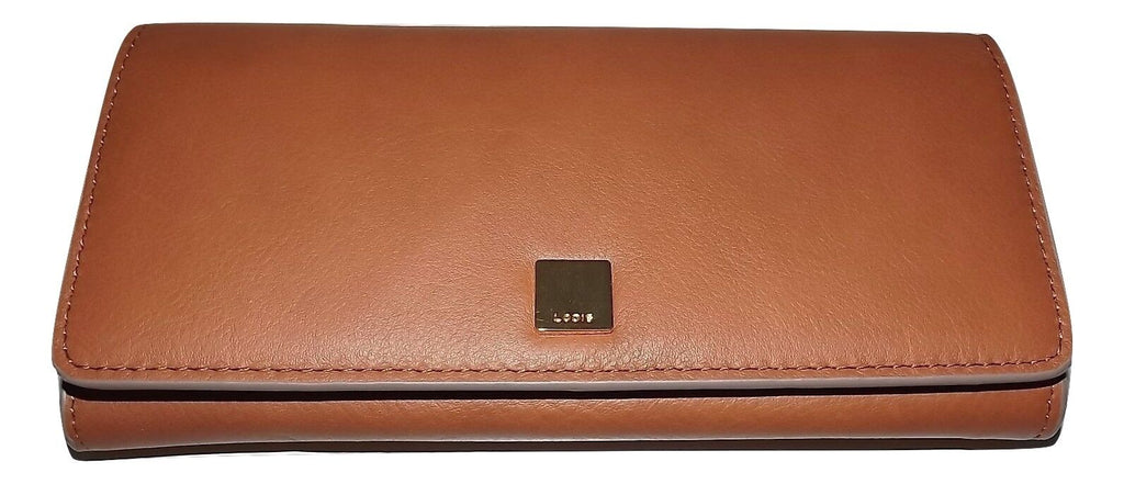 Lodis RFID Clutch Wallet Tan