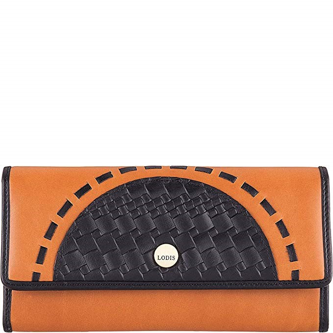 Lodis Rodeo Woven Luna RFID Clutch Wallet