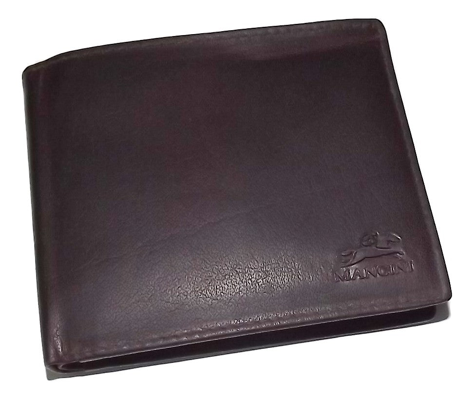 NEW MANCINI LEATHER MEN/'S RFID PROTECTED FRONT POCKET MONEY CLIP ID WALLET BROWN
