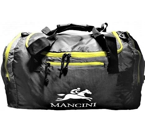 Mancini Packable Duffel Bag Black