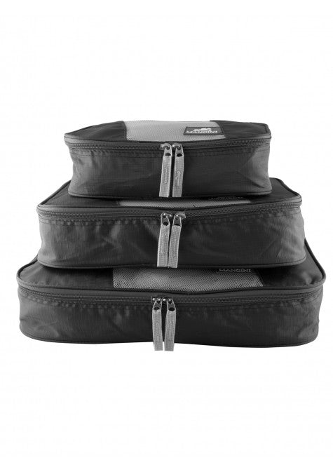 Mancini Luggage Packing Cube Set of 3 Small Medium Large