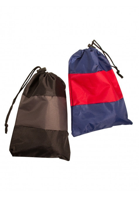 Mancini Pack Em In Set of 2 Lightweight Travel Shoe Bags