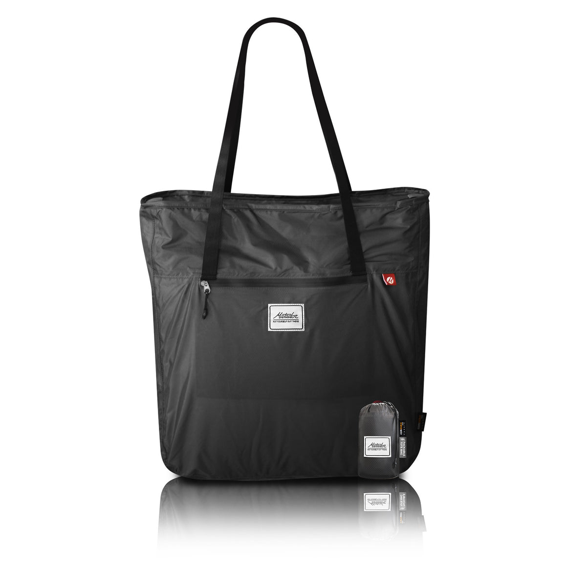 Matador Transit Compact Pack-away Tote Bag Grey