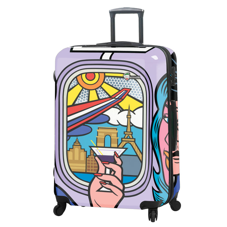 Mia Toro First Class 4 Wheel Spinner Luggage