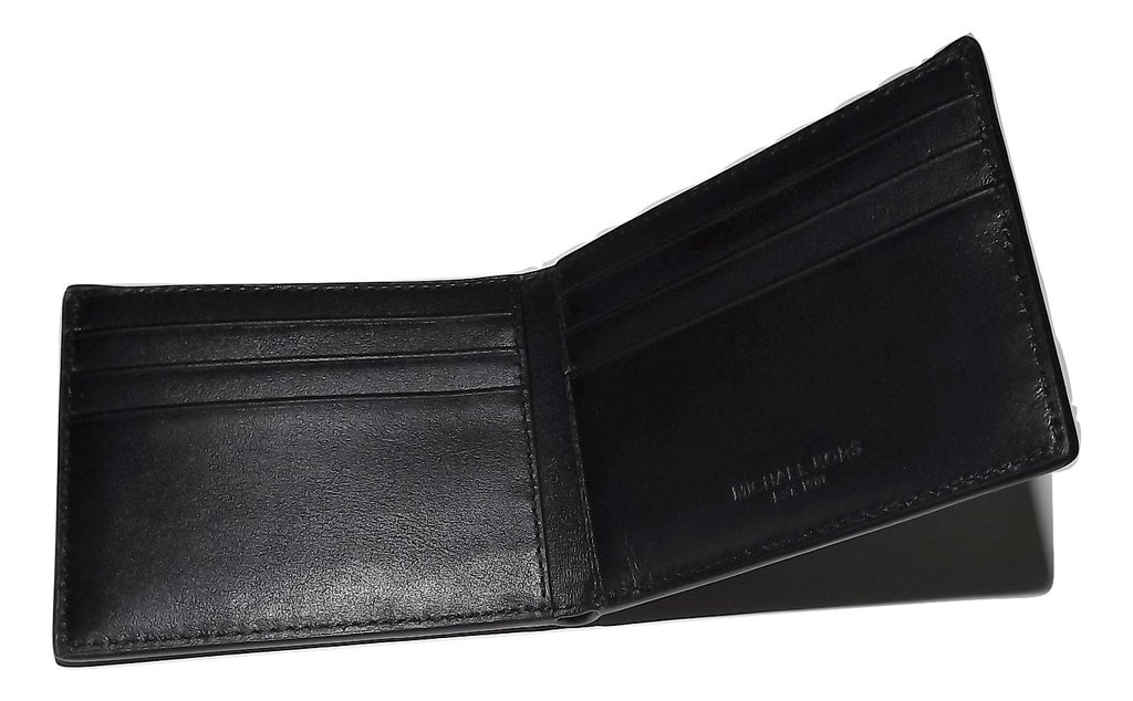 Michael Kors Jet Set Slim Bifold Wallet Black/Grey