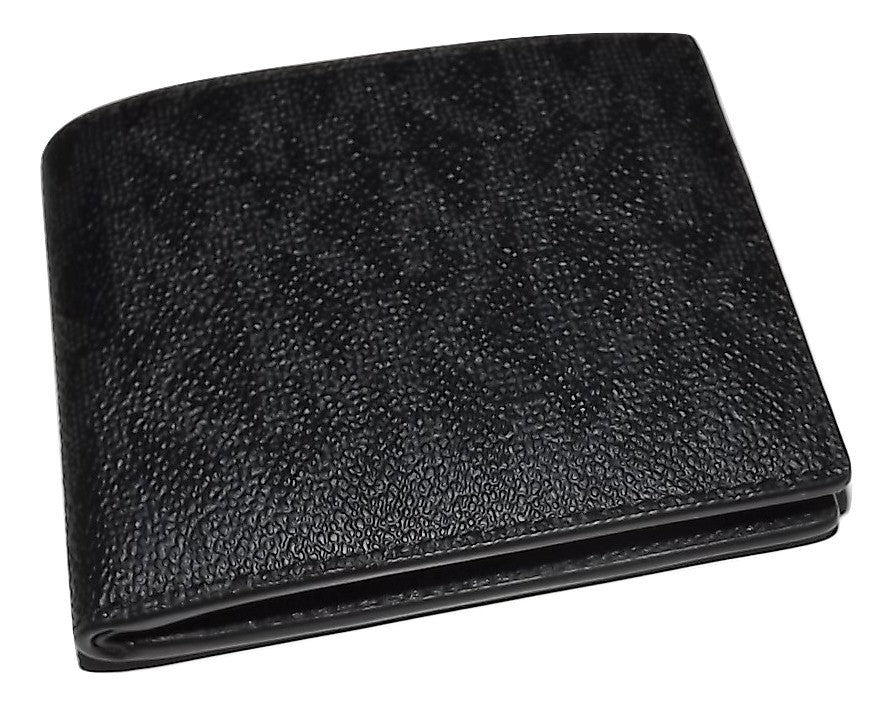 Michael Kors Jet Set 6 Pocket Wallet Black