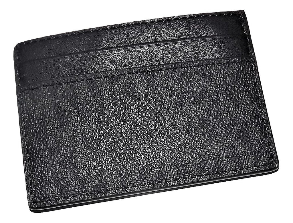 Michael Kors Jet Set Slim Card Case Wallet Black