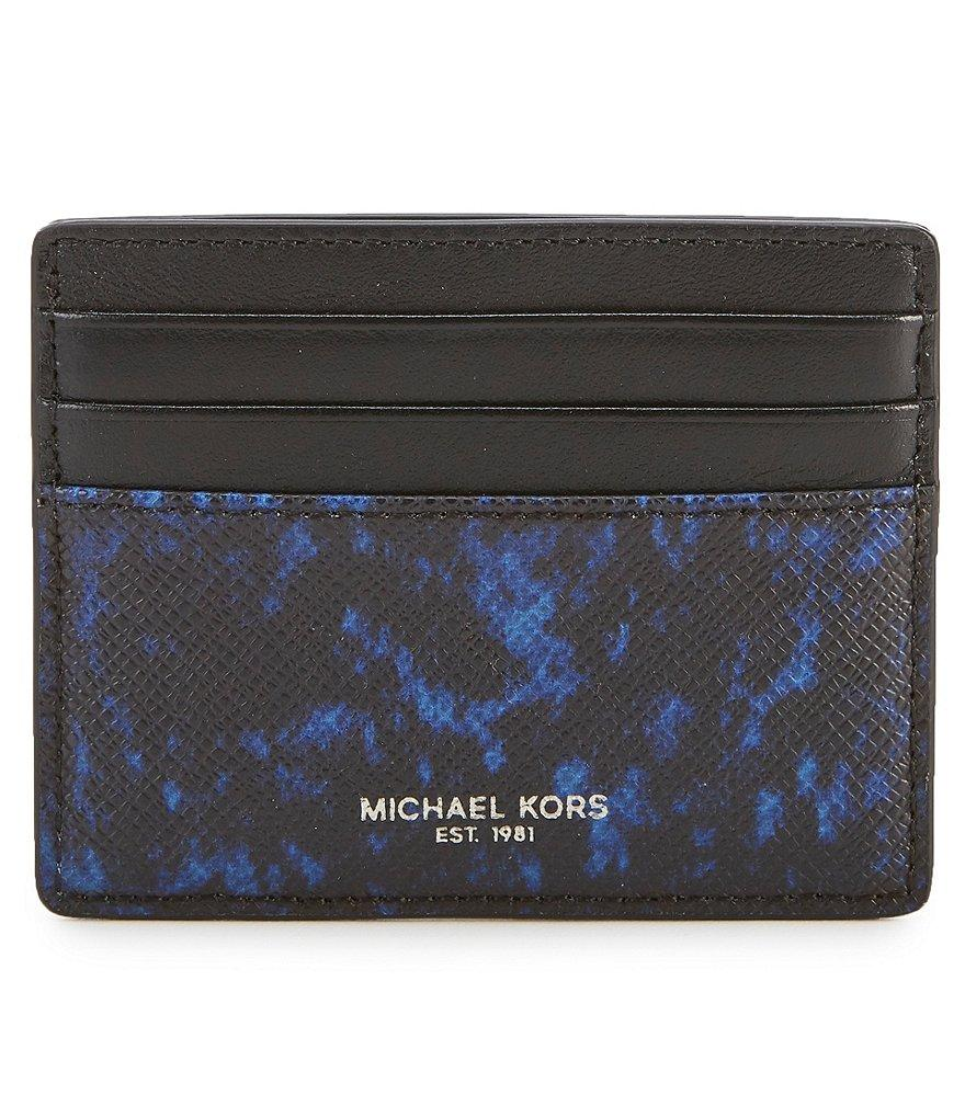 Michael Kors Kent Card Case Blue