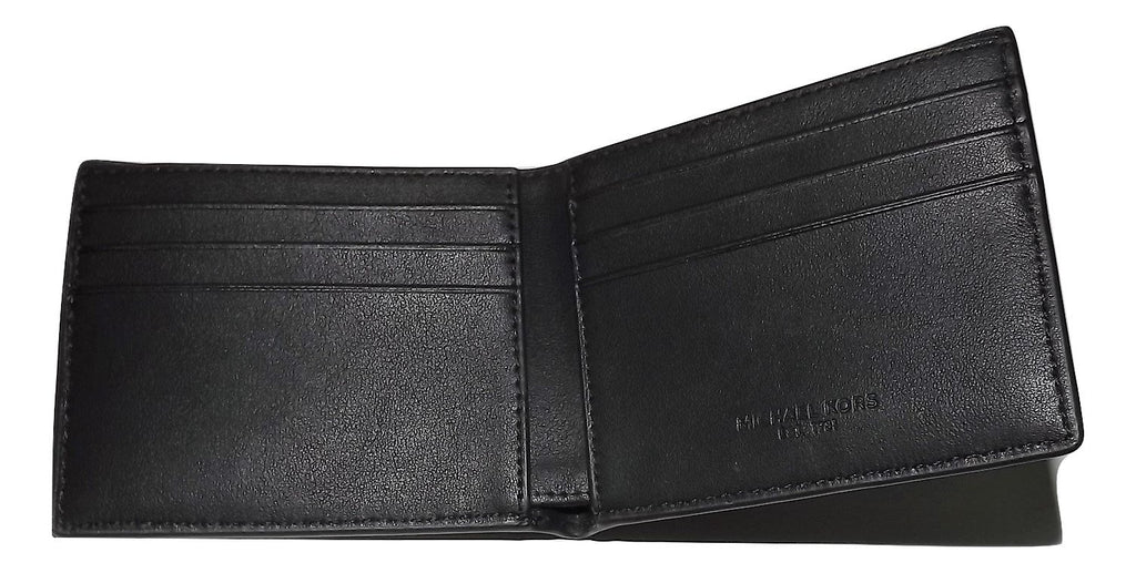 Michael Kors Andy Bifold 6 Pocket Wallet Black