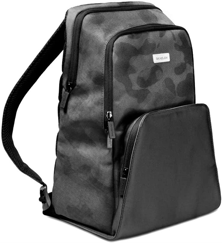 Moleskin City Backpack Camo Black